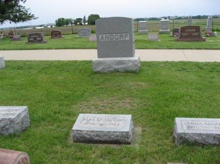 ANDORF, J.W. (LOT) - Black Hawk County, Iowa   J.W. (LOT) ANDORF