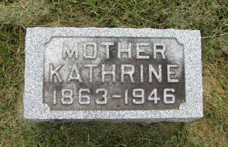 ANTON, KATHRINE - Black Hawk County, Iowa | KATHRINE ANTON