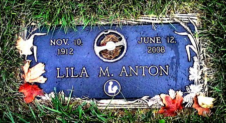 ANTON, LILA M. - Black Hawk County, Iowa | LILA M. ANTON