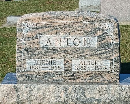 ANTON, ALBERT - Black Hawk County, Iowa | ALBERT ANTON