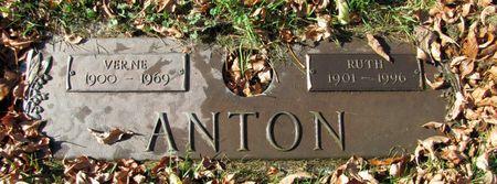 ANTON, VERNE - Black Hawk County, Iowa   VERNE ANTON