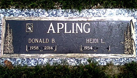 APLING, DONALD B. - Black Hawk County, Iowa | DONALD B. APLING