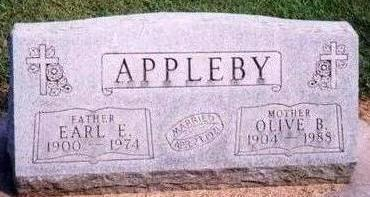 APPLEBY, EARL - Black Hawk County, Iowa | EARL APPLEBY