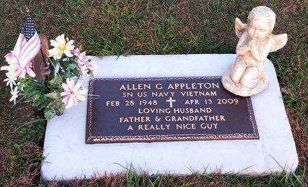 APPLETON, ALLEN G. - Black Hawk County, Iowa   ALLEN G. APPLETON