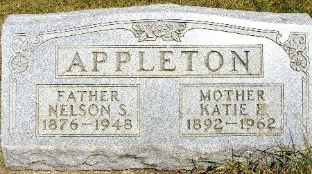 APPLETON, NELSON S. - Black Hawk County, Iowa | NELSON S. APPLETON