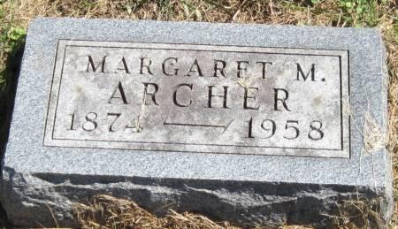 ARCHER, MARGARET M. - Black Hawk County, Iowa | MARGARET M. ARCHER