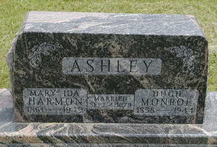 HARMON ASHLEY, MARY IDA - Black Hawk County, Iowa | MARY IDA HARMON ASHLEY