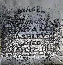 ASHLEY, MABEL - Black Hawk County, Iowa | MABEL ASHLEY