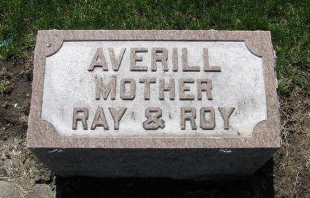 AVERILL, FLORA - Black Hawk County, Iowa | FLORA AVERILL