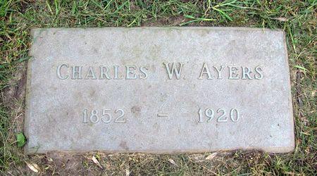 AYERS, CHARLES W. - Black Hawk County, Iowa | CHARLES W. AYERS