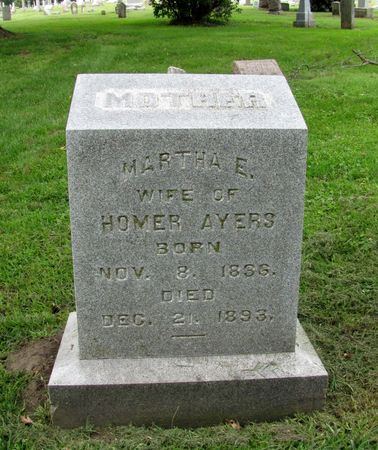 AYERS, MARTHA E. - Black Hawk County, Iowa | MARTHA E. AYERS
