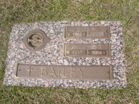 SCHACHERER BAILEY, MARGARET M. - Black Hawk County, Iowa | MARGARET M. SCHACHERER BAILEY