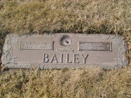 BROWN BAILEY, WILODENE T. - Black Hawk County, Iowa | WILODENE T. BROWN BAILEY