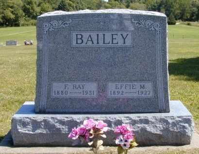 BAILEY, EFFIE MAE - Black Hawk County, Iowa | EFFIE MAE BAILEY