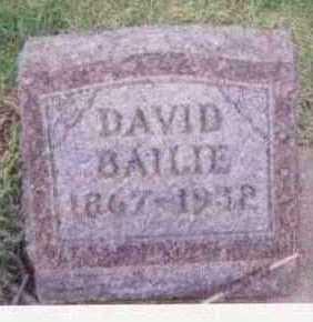 BAILIE, DAVID - Black Hawk County, Iowa | DAVID BAILIE