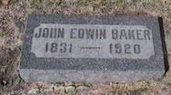 BAKER, JOHN EDWIN - Black Hawk County, Iowa | JOHN EDWIN BAKER
