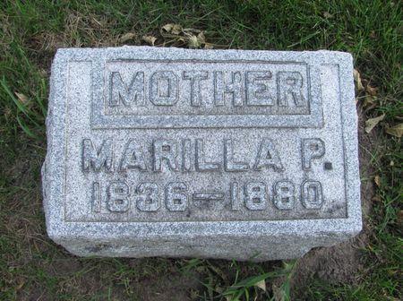 BALDWIN, MARILLA P. - Black Hawk County, Iowa | MARILLA P. BALDWIN