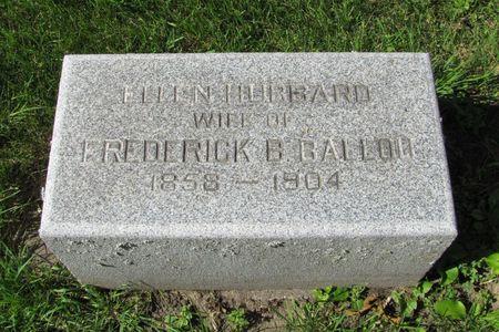 HUBBARD BALLOU, ELLEN - Black Hawk County, Iowa | ELLEN HUBBARD BALLOU