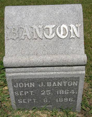 BANTON, JOHN J. - Black Hawk County, Iowa | JOHN J. BANTON