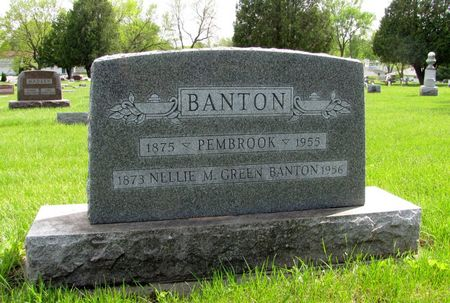 BANTON, NELLIE M. - Black Hawk County, Iowa | NELLIE M. BANTON
