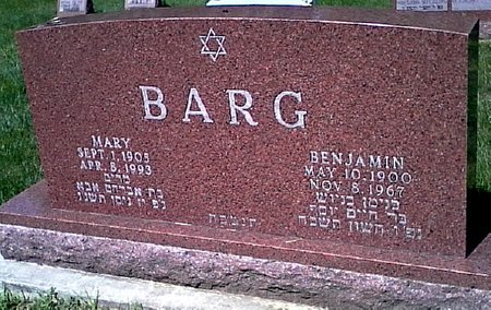 BARG, MARY - Black Hawk County, Iowa | MARY BARG