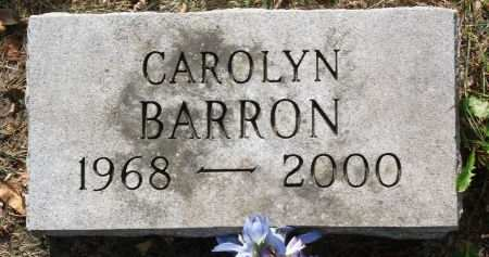 BARRON, CAROLYN - Black Hawk County, Iowa | CAROLYN BARRON