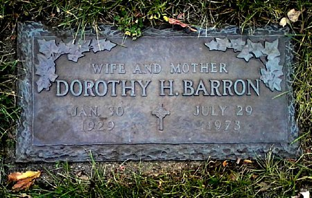 BARRON, DOROTHY H, - Black Hawk County, Iowa | DOROTHY H, BARRON