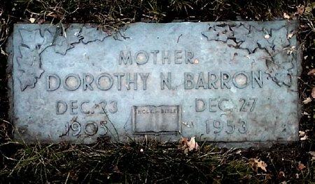 BARRON, DOROTHY N. - Black Hawk County, Iowa | DOROTHY N. BARRON