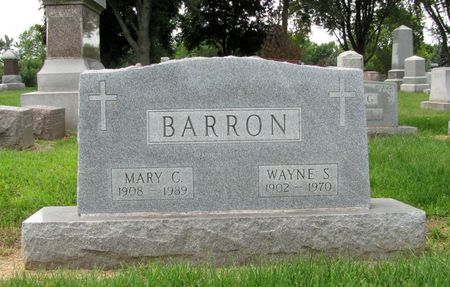 BARRON, WAYNE S. - Black Hawk County, Iowa | WAYNE S. BARRON