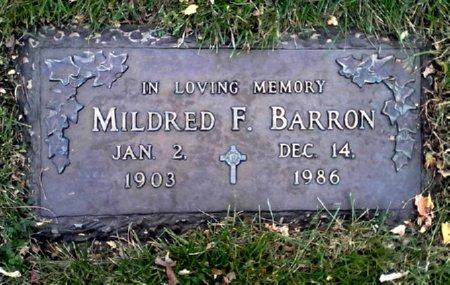 BARRON, MILDRED F. - Black Hawk County, Iowa | MILDRED F. BARRON