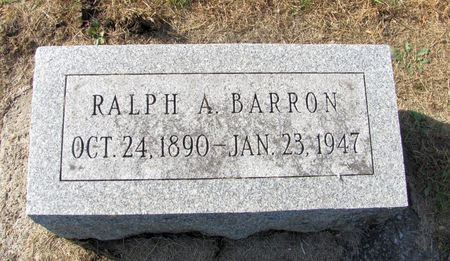 BARRON, RALPH A. - Black Hawk County, Iowa | RALPH A. BARRON