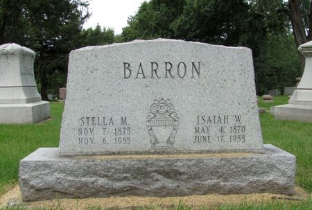 BARRON, STELLA M. - Black Hawk County, Iowa | STELLA M. BARRON