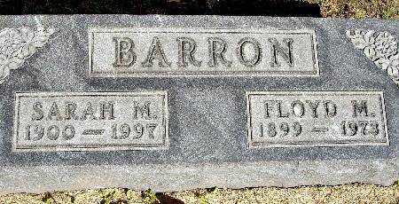 BARRON, FLOYD M. - Black Hawk County, Iowa | FLOYD M. BARRON