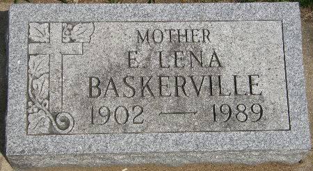 BASKERVILLE, E. LENA - Black Hawk County, Iowa | E. LENA BASKERVILLE