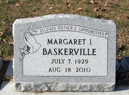 BASKERVILLE, MARGARET I. - Black Hawk County, Iowa | MARGARET I. BASKERVILLE