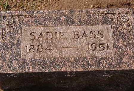 BASS, SADIE - Black Hawk County, Iowa   SADIE BASS