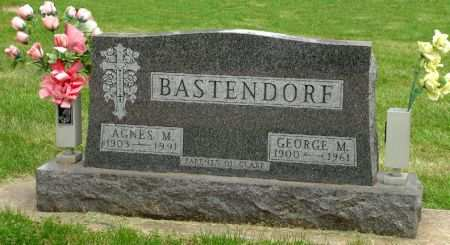 BASTENDORF, GEORGE M. - Black Hawk County, Iowa | GEORGE M. BASTENDORF