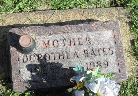 BATES, DOROTHEA - Black Hawk County, Iowa | DOROTHEA BATES