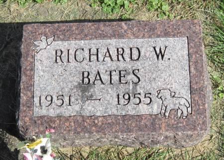 BATES, RICHARD W. - Black Hawk County, Iowa | RICHARD W. BATES