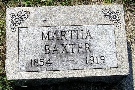 BAXTER, MARTHA - Black Hawk County, Iowa | MARTHA BAXTER