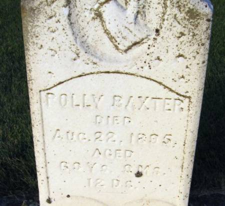 BAXTER, POLLY - Black Hawk County, Iowa | POLLY BAXTER