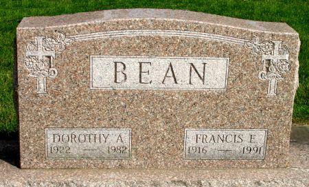 BEAN, FRANCIS E. - Black Hawk County, Iowa   FRANCIS E. BEAN