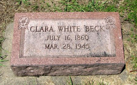 BECK, CLARA - Black Hawk County, Iowa | CLARA BECK