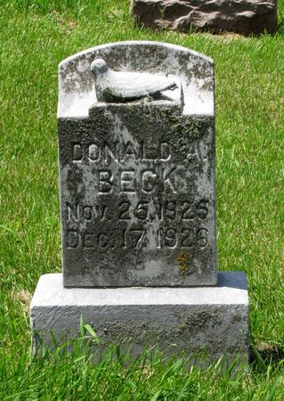 BECK, DONALD A. - Black Hawk County, Iowa | DONALD A. BECK