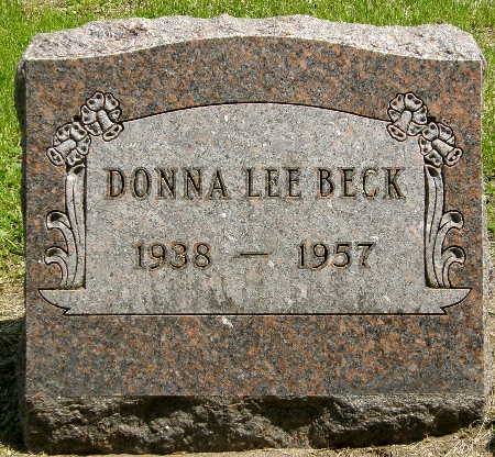 BECK, DONNA - Black Hawk County, Iowa | DONNA BECK