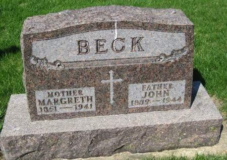 BECK, JOHN - Black Hawk County, Iowa | JOHN BECK
