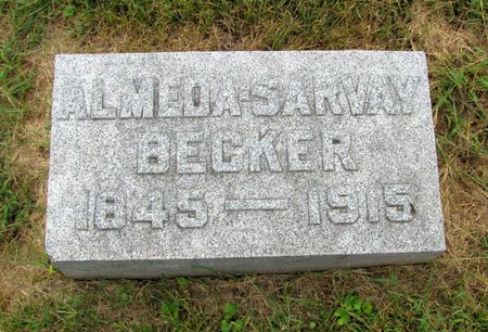 BECKER, ALMEDA - Black Hawk County, Iowa | ALMEDA BECKER