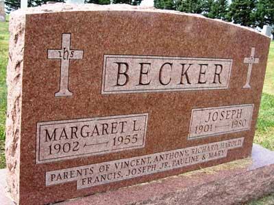 BECKER, MARGARET L. - Black Hawk County, Iowa | MARGARET L. BECKER