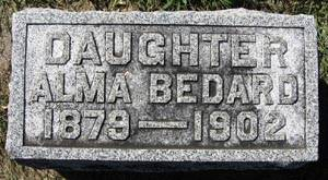BEDARD, ALMA - Black Hawk County, Iowa | ALMA BEDARD