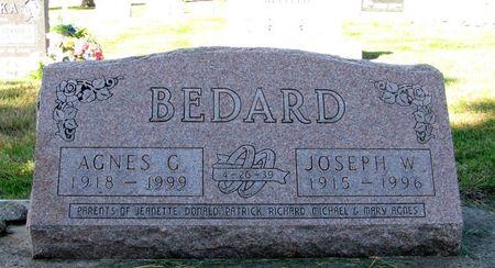 BEDARD, AGNES G. - Black Hawk County, Iowa | AGNES G. BEDARD